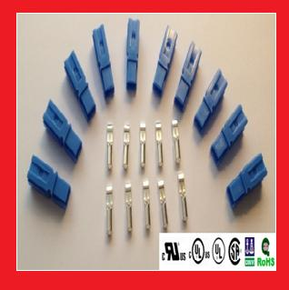 15A Single Pole Power Connectors, Blue, Price for 10 Kits