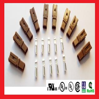 15A Single Pole Power Connectors, Brown, Price for 10 Kits