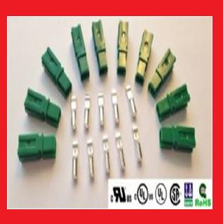 30A Single Pole Power Connectors, Green,  Price for 10 Kits