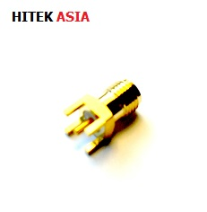 SMA Connector, Straight Jack, Solder, 19-46-1-TGG
